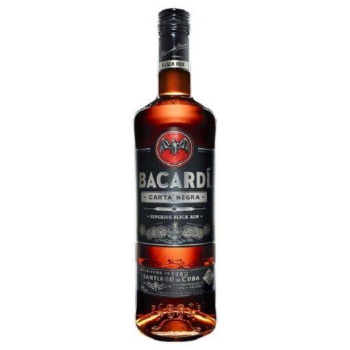 Bacardi Carta Negra Black Rum 37,5° 0,7 l