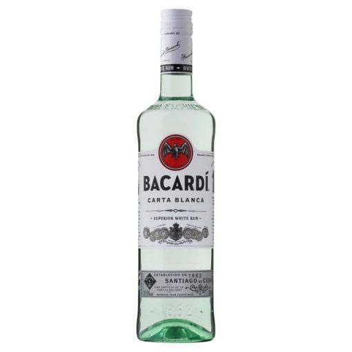 Bacardi Carta Blanca Superior Rum 37,5° 1 l