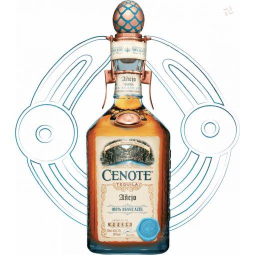 Cenote Anejo Tequila 40° 0,7 l
