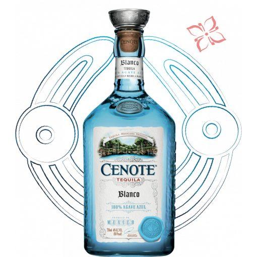 Cenote Blanco Tequila 40° 0,7 l