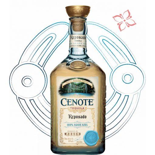 Cenote Reposado Tequila 40° 0,7 l